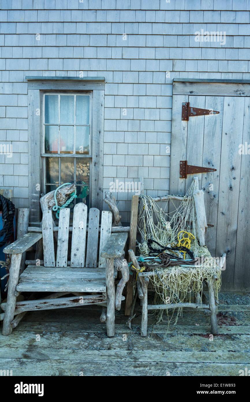 Middle Point Cove, Nova Scotia, Canada - Stock Image