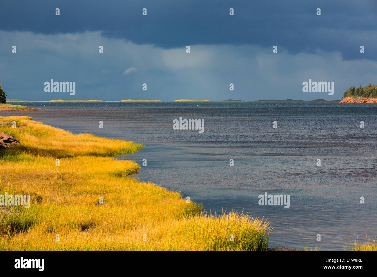 New London Bay, Prince Edward Island, Canada - Stock Image