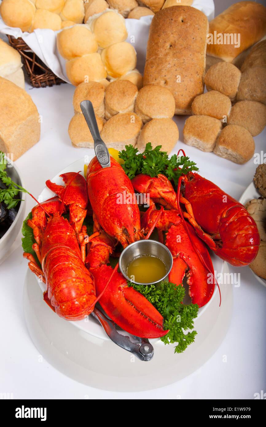 Acadian Restaurant, Centre Expo-Festival, Abrams Village, Prince Edward Island, Canada - Stock Image