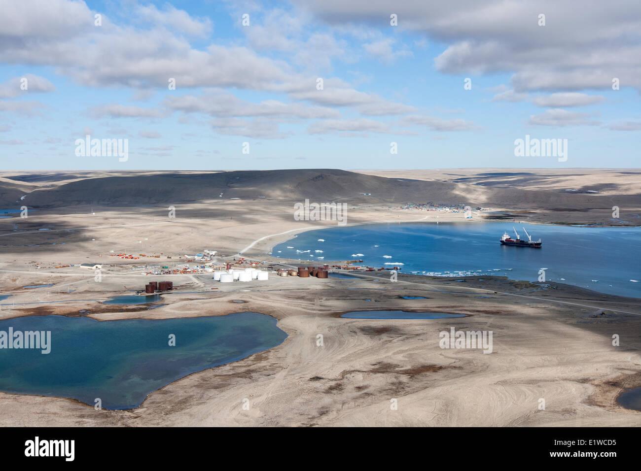 Resolute Bay, Nunavut, Canada Stock Photo