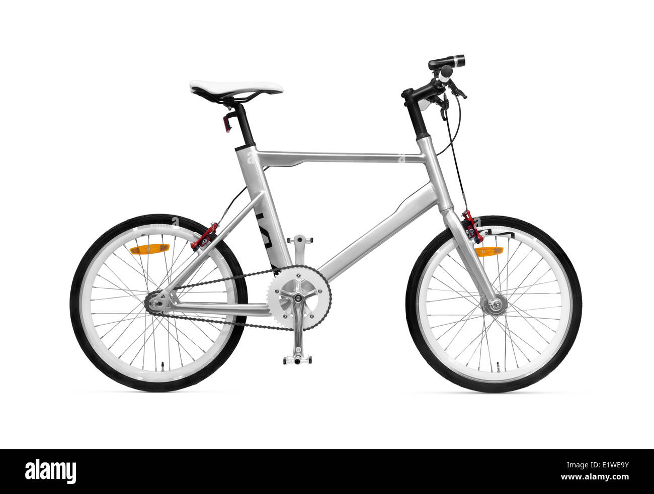 K VELO bicycle Kia Motors bike isolated on white background with clipping path Stock Photo