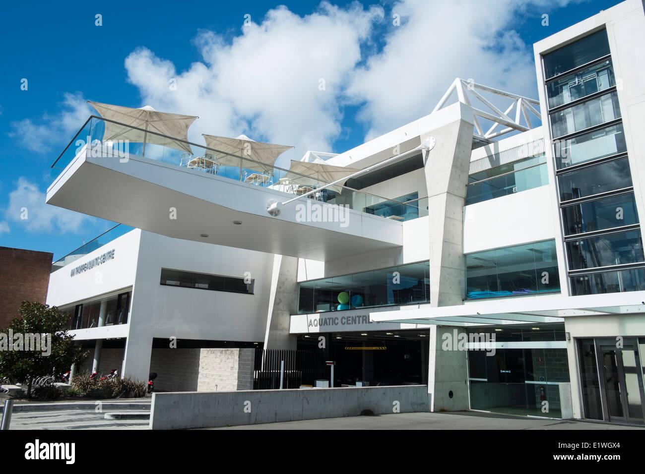 Ian Thorpe Aquatic Centre swimming pool in Sydney Australia - Stock Image
