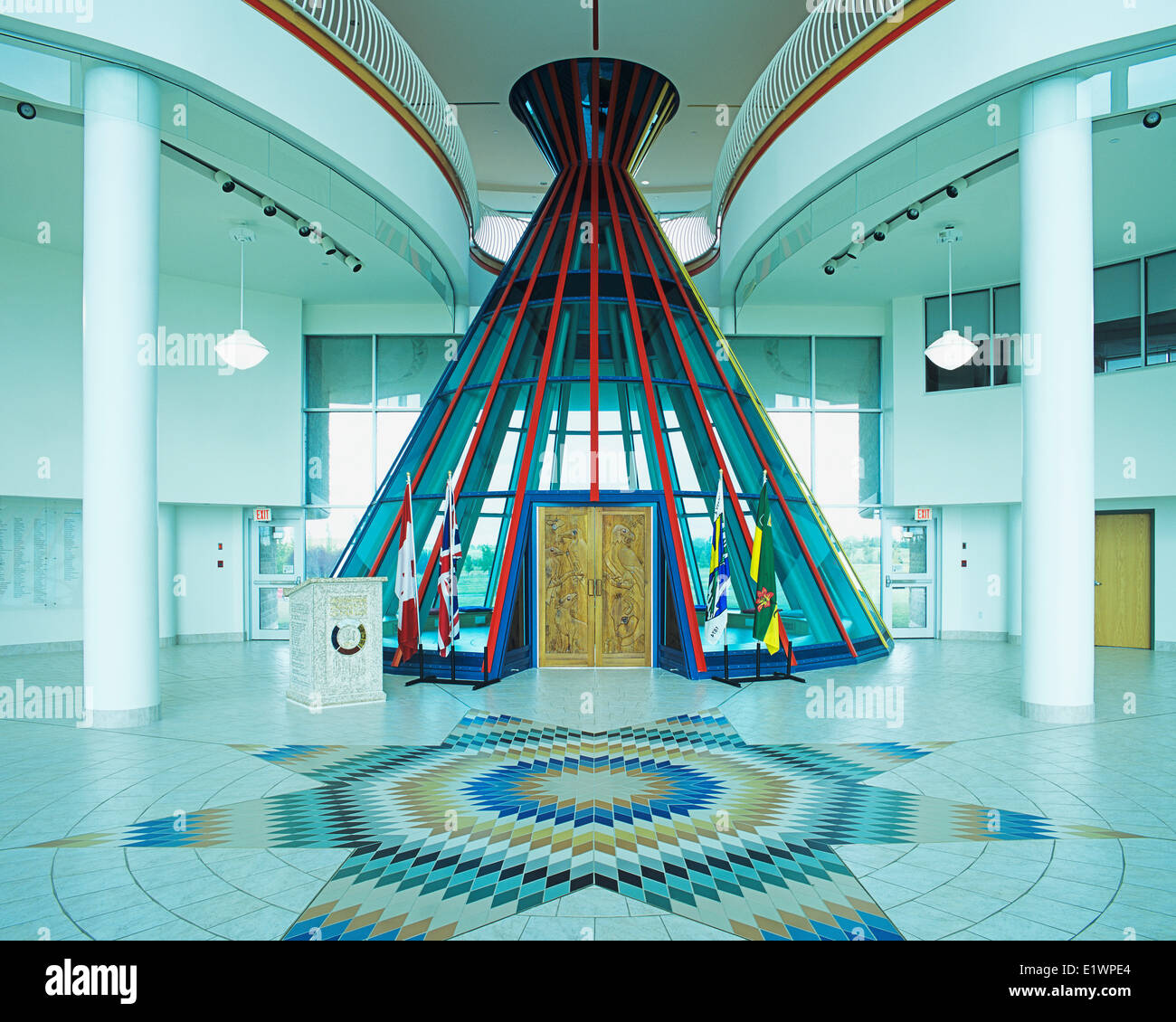 First Nations University First Nations Veterans Memorial Tipi Stock Photo 70022572 Alamy