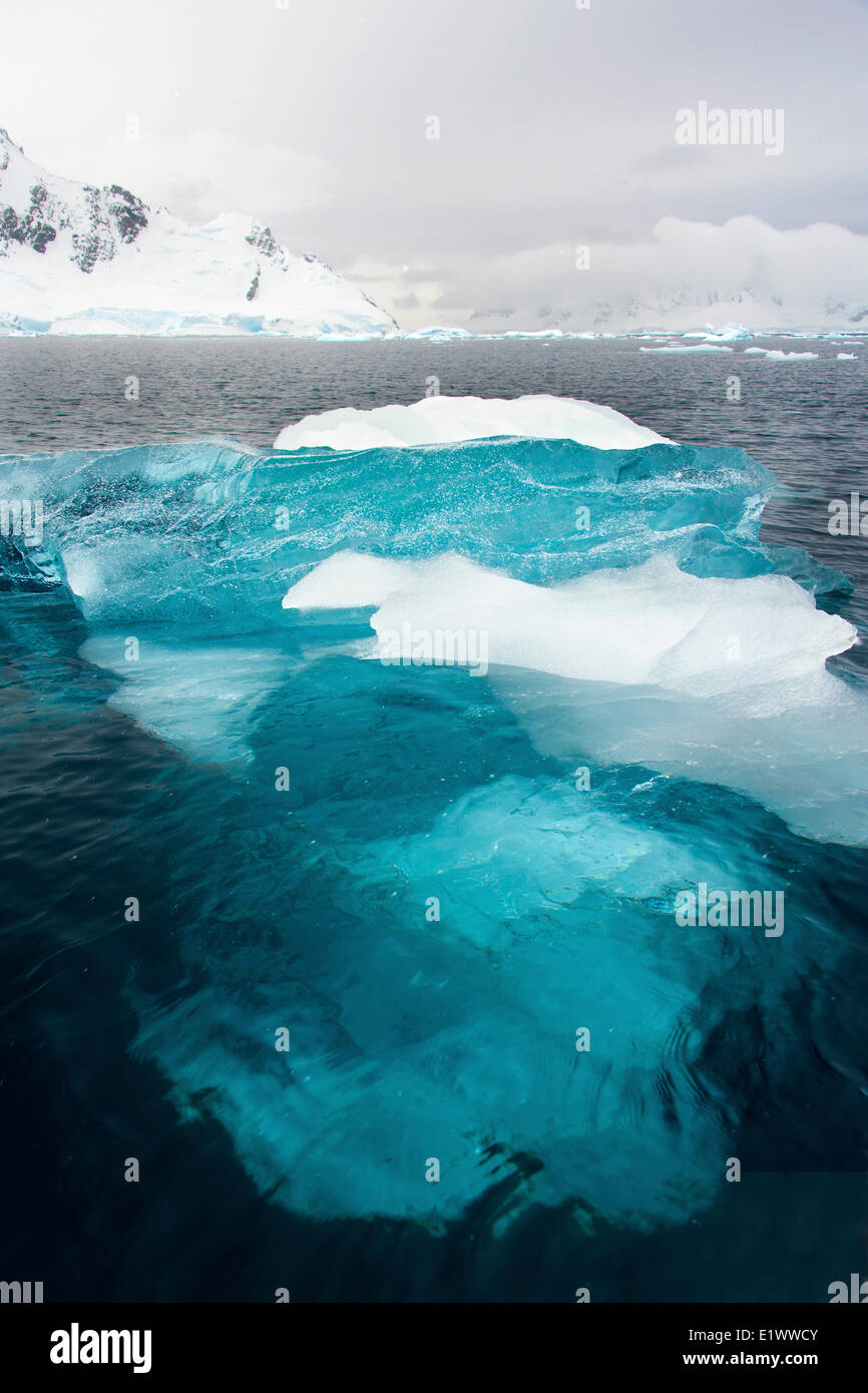 Paradise Bay, Antarctic Peninsula - Stock Image