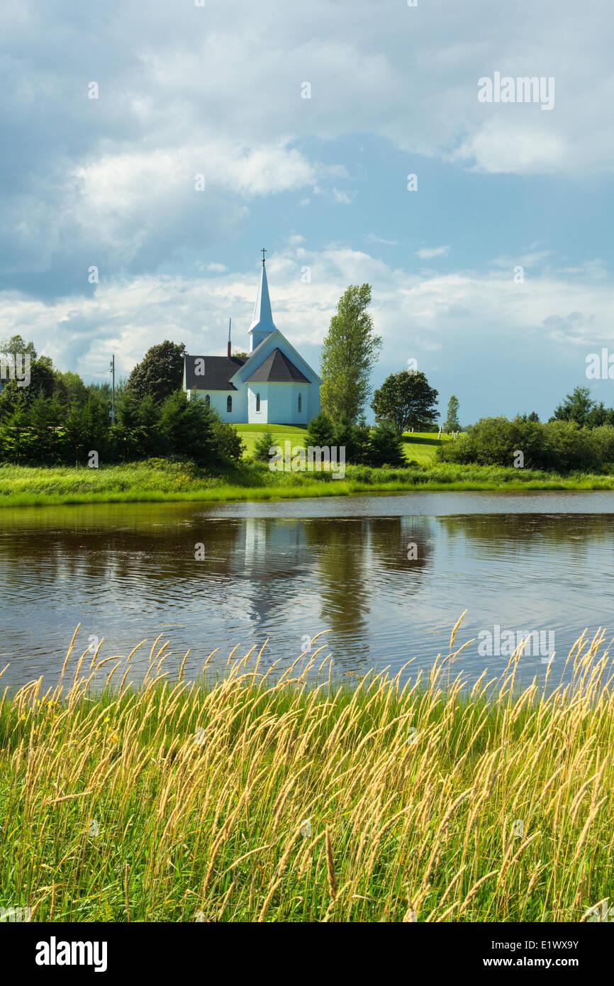 Church, Derby, Prince Edward Island, Canada - Stock Image