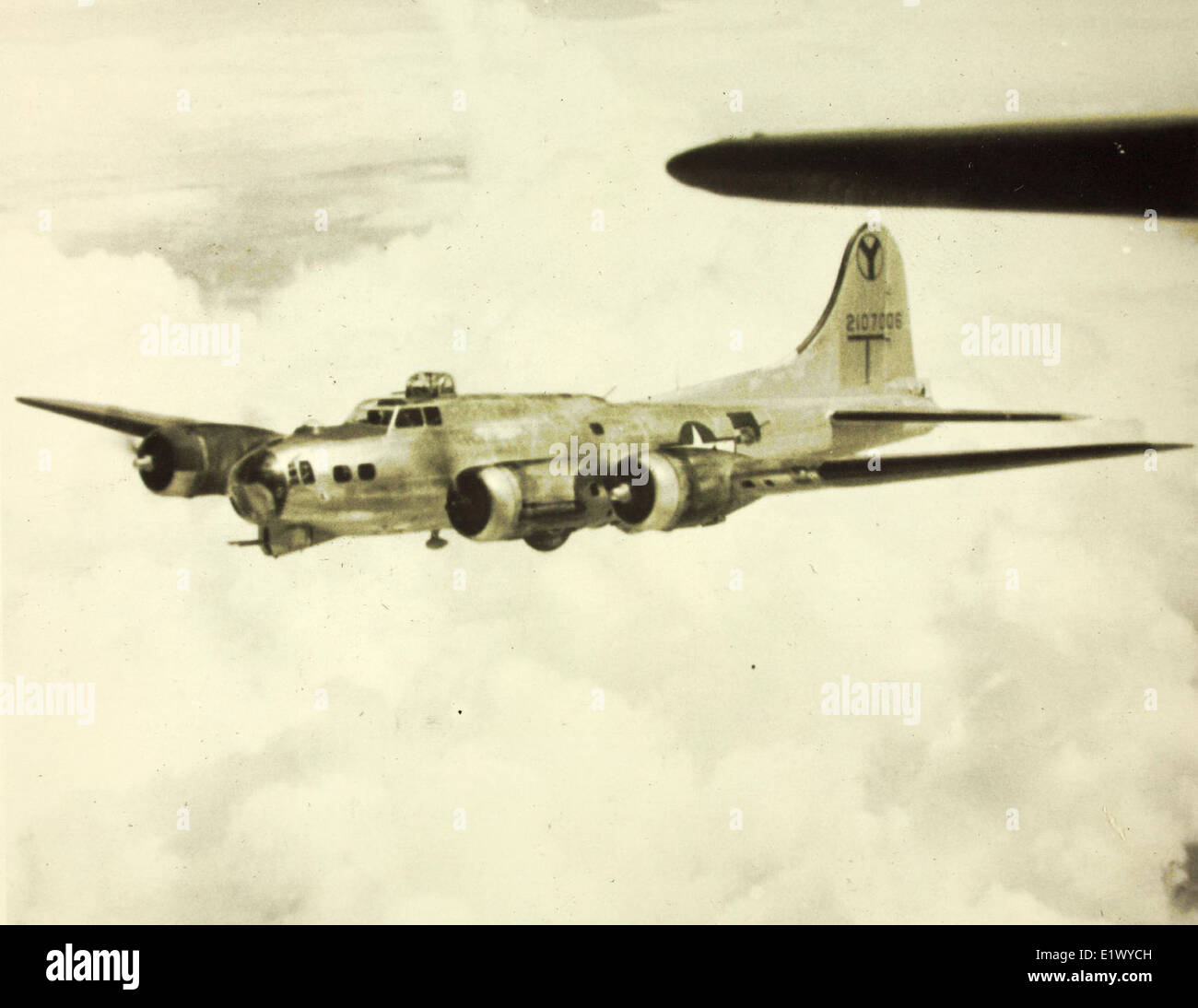 2nd Bomb Group; 15th Air Foce; 49th, 20th, 96th 429th Squadrons; B-17s Stock Photo