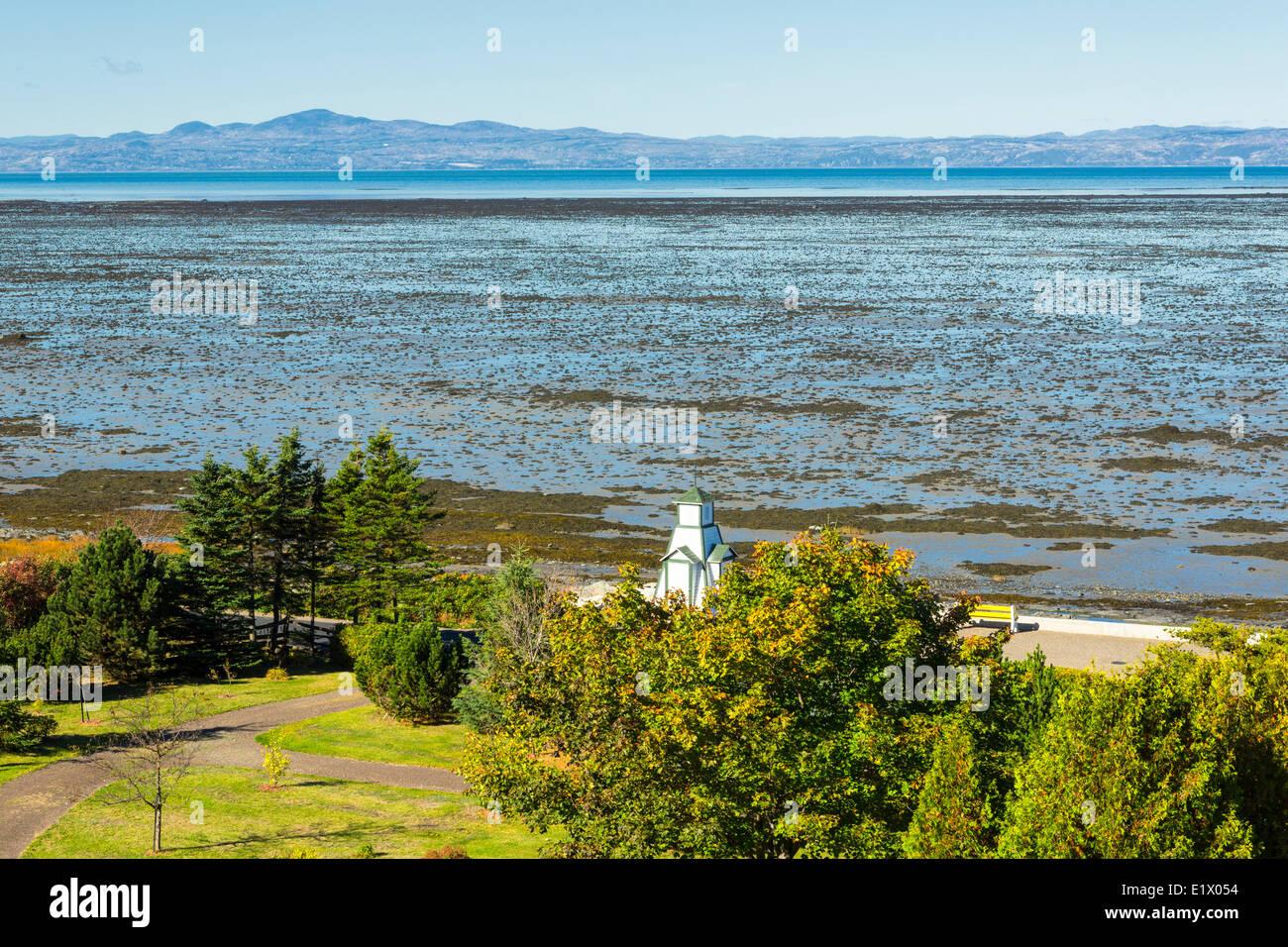 St. Lawrence River, Kamouraska, Quebec, Canada - Stock Image