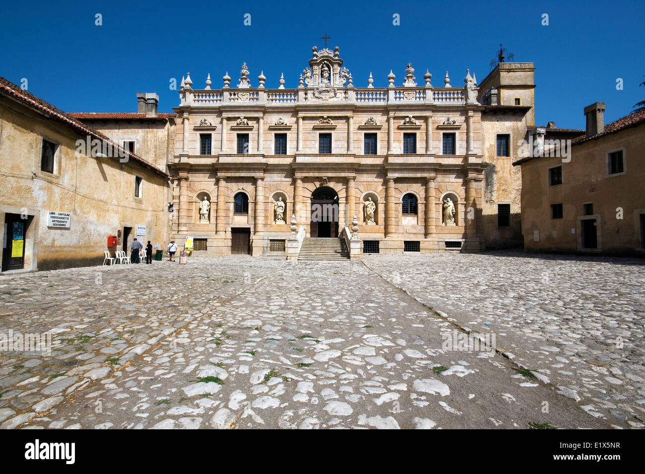 Certosa of San Lorenzo, Padula, Campania, Italy Stock Photo