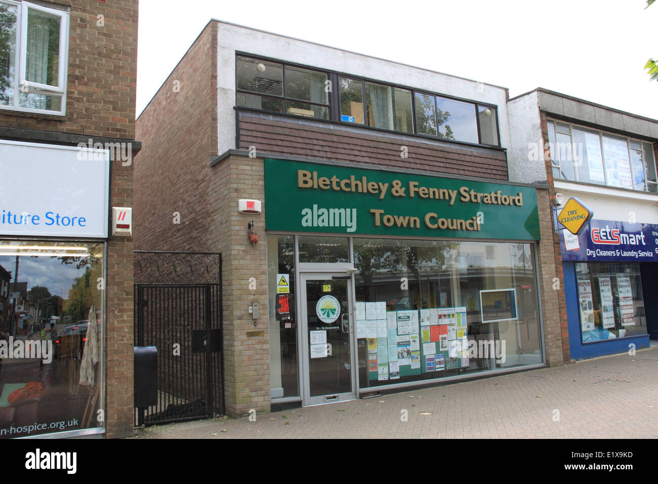 Bletchley and Fenny Stratford Town Council, Milton Keynes, Buckinghamshire, England, Great Britain, United Kingdom, - Stock Image