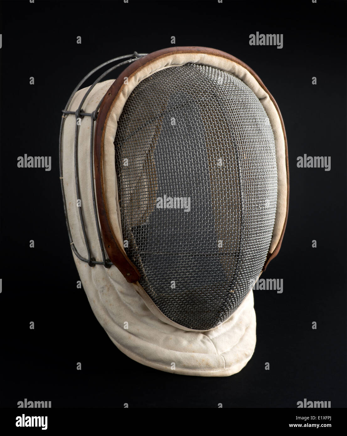 Fencing mask - Stock Image