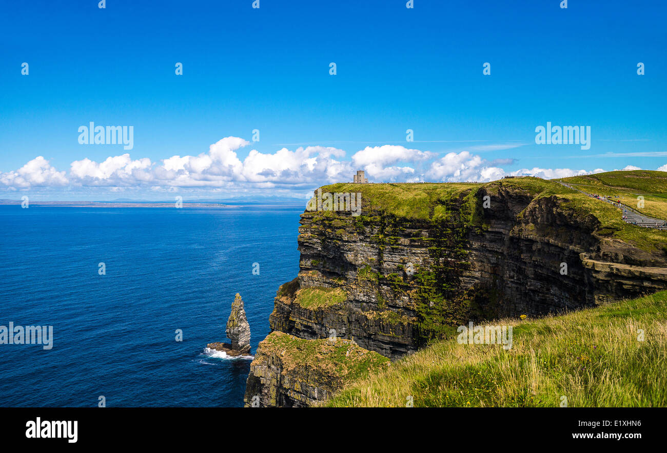 Ireland, Galway county, the Cliffs of Moher - Stock Image
