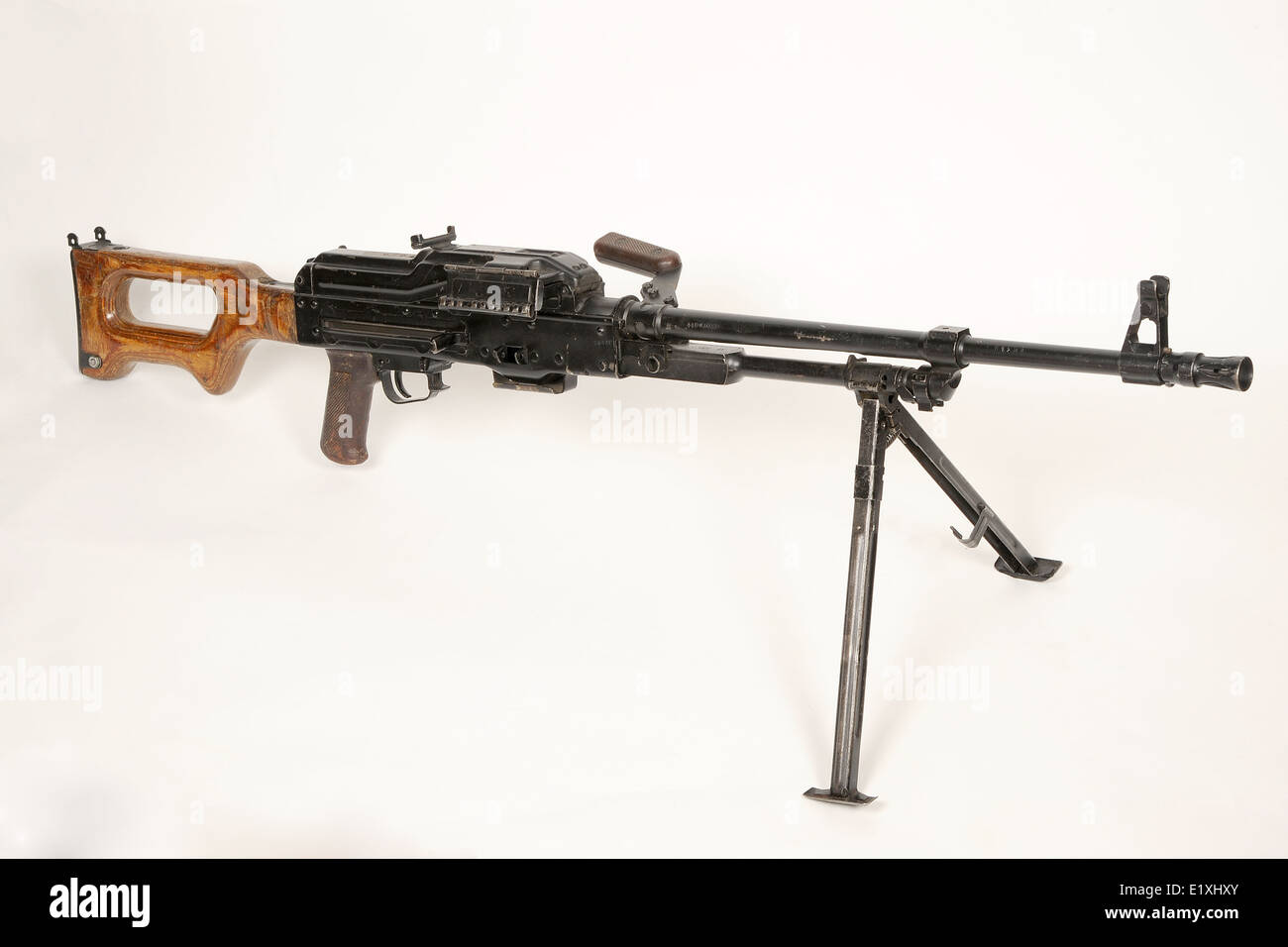 PKM 7.62 mm general-purpose machine gun - Stock Image