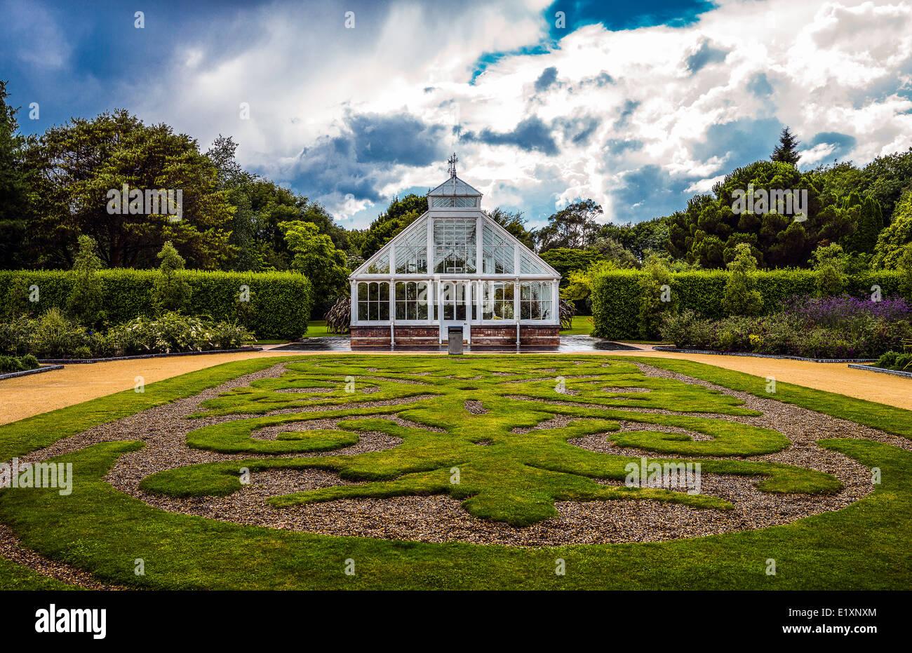Ireland, Dublin county, the Victoria green house in the Malahide garden - Stock Image