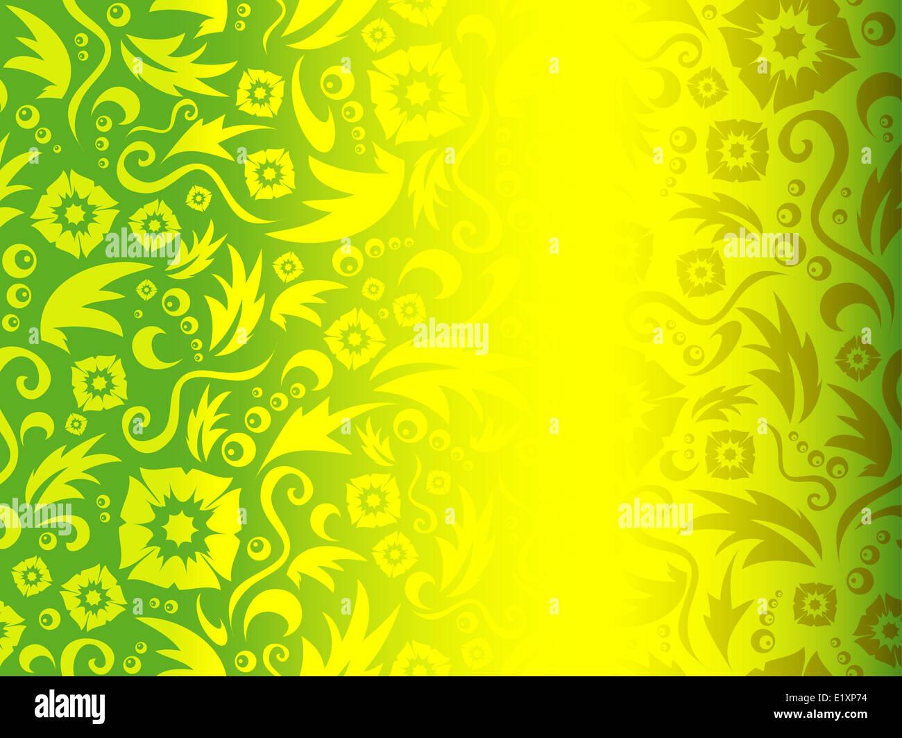 Flower pattern - Stock Image