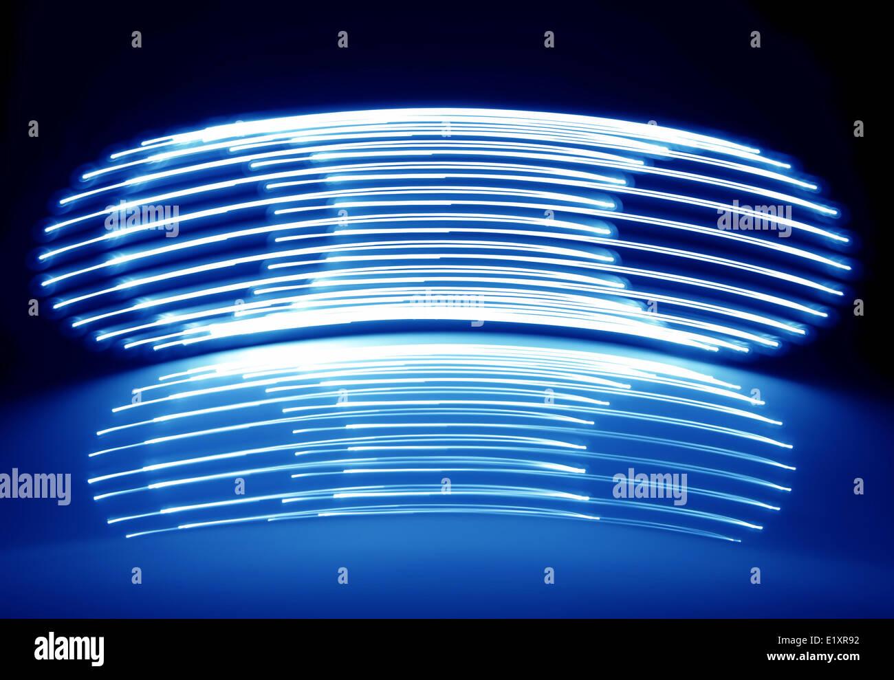 Abstract Neon Lights - Stock Image