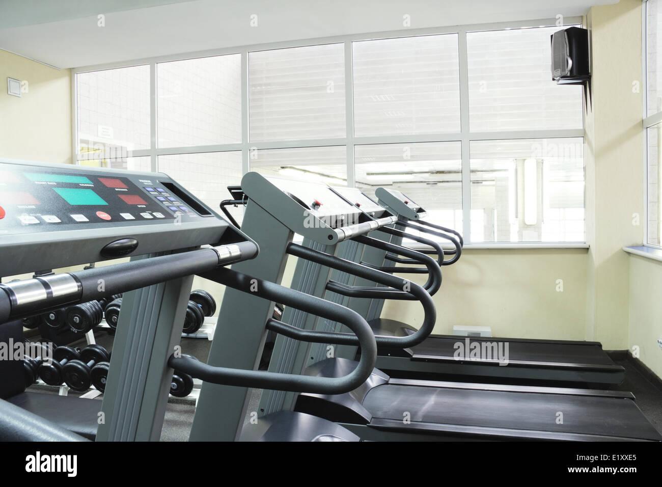 Treadmills - Stock Image