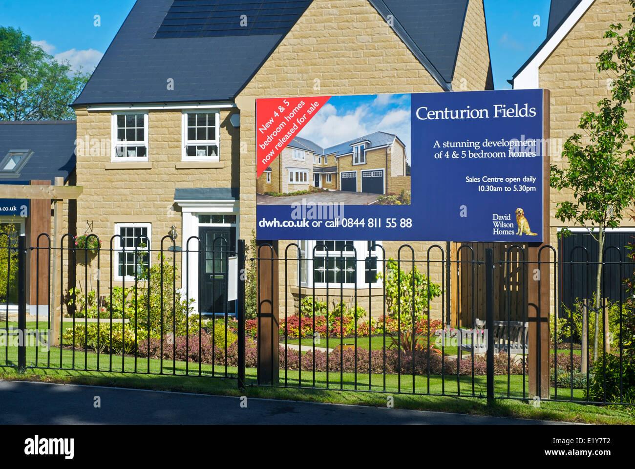 New Housing Development : New housing development centurion fields in adel near