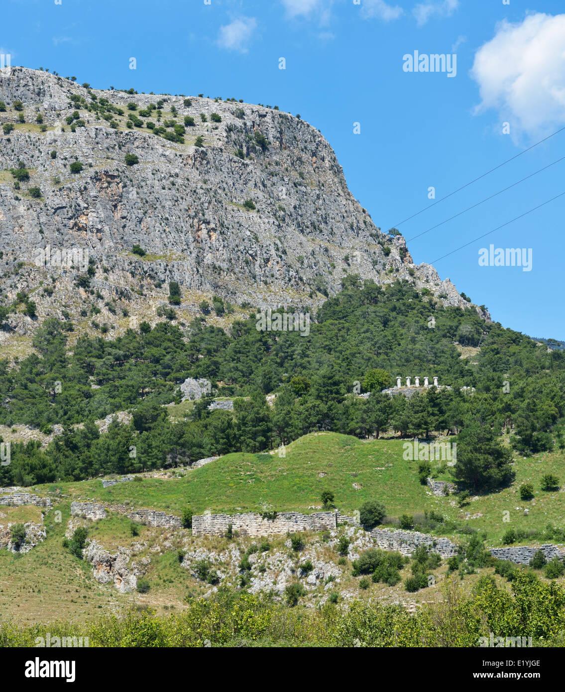 Priene,Turkey 140415_60716 - Stock Image