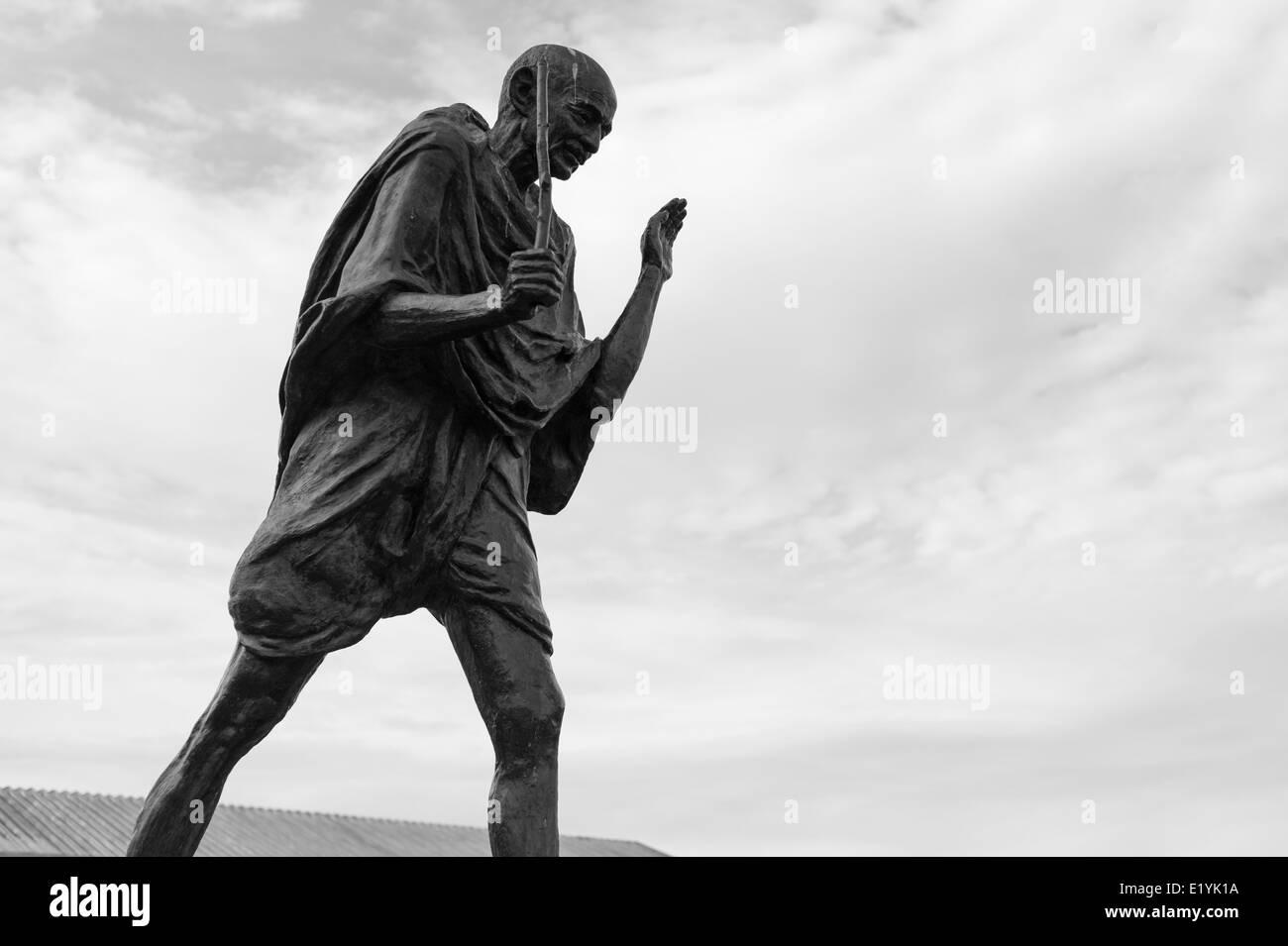 Gandhi Statue, San Francisco - Stock Image
