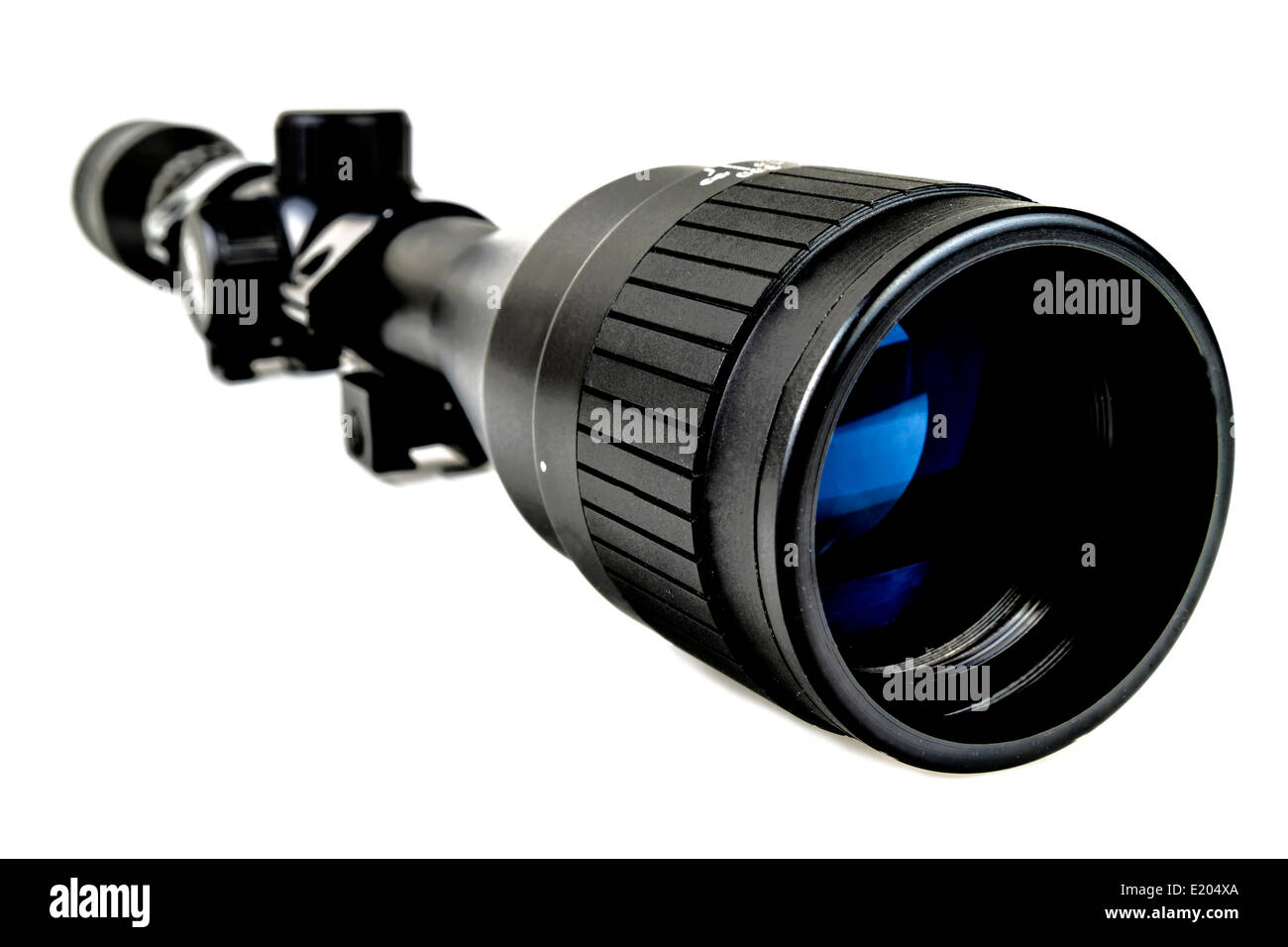 Riflescope photo for hunting - Stock Image