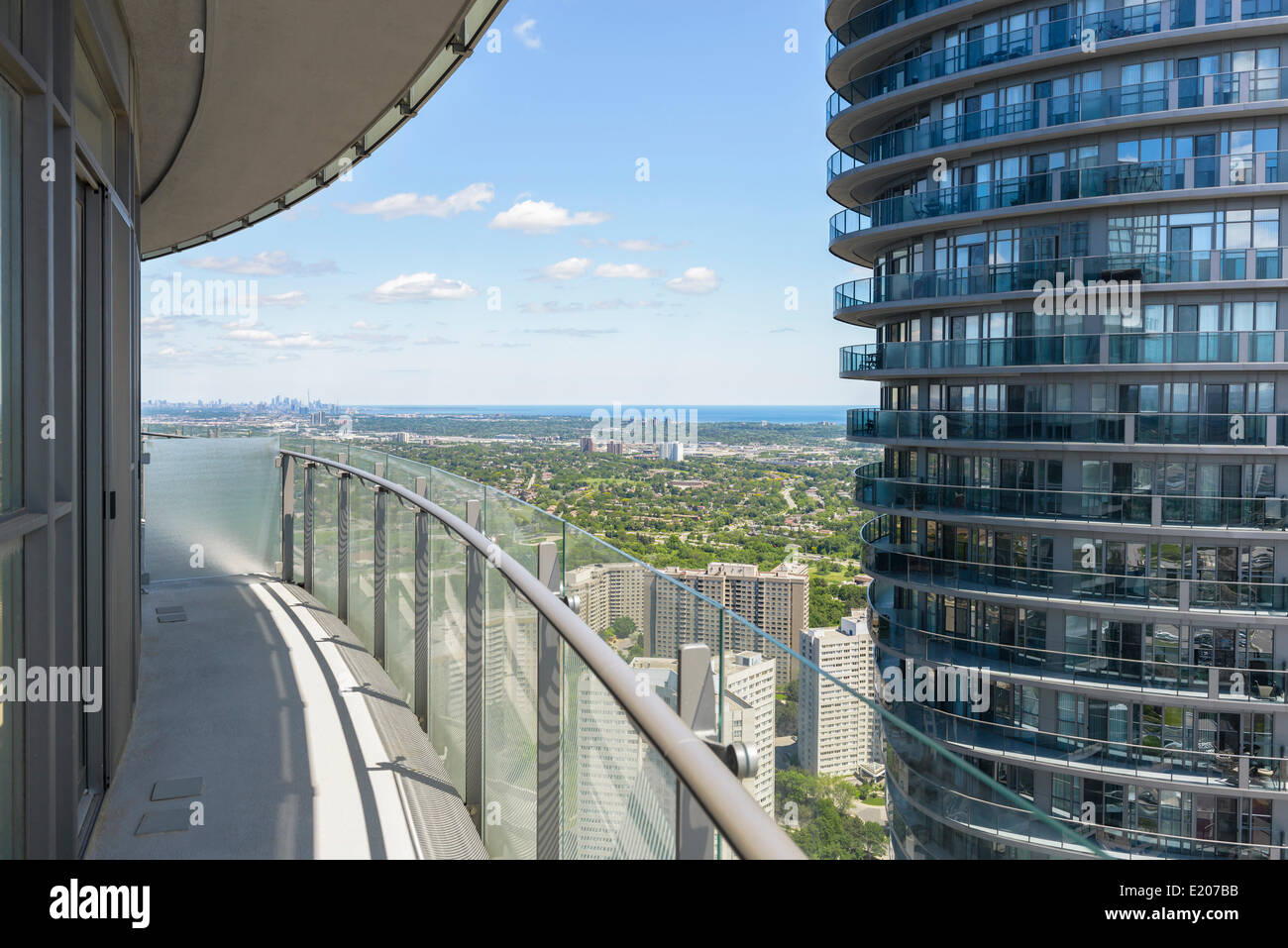 Absolute Towers, Mississauga, Canada. Architect: MAD Architects, 2012. - Stock Image