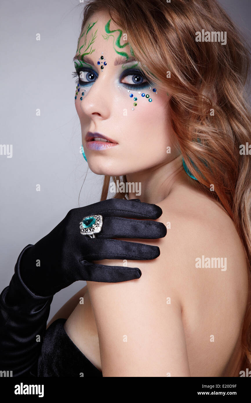 Bodyart High Resolution Stock Photography And Images Alamy