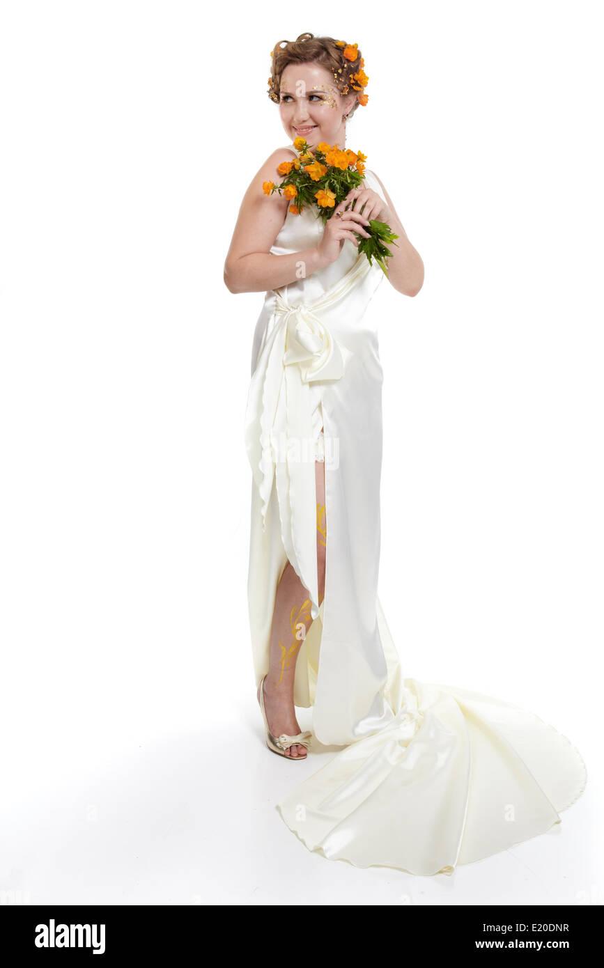 Long white dress cheap - All women dresses