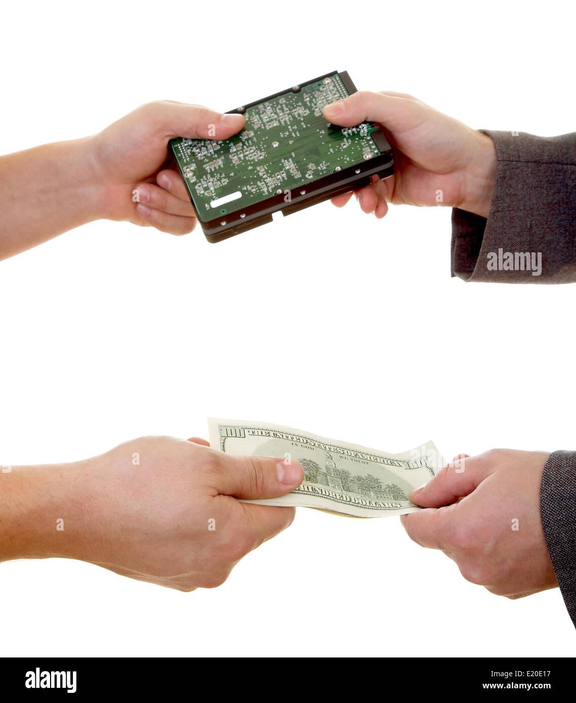 Spy Deal - Stock Image