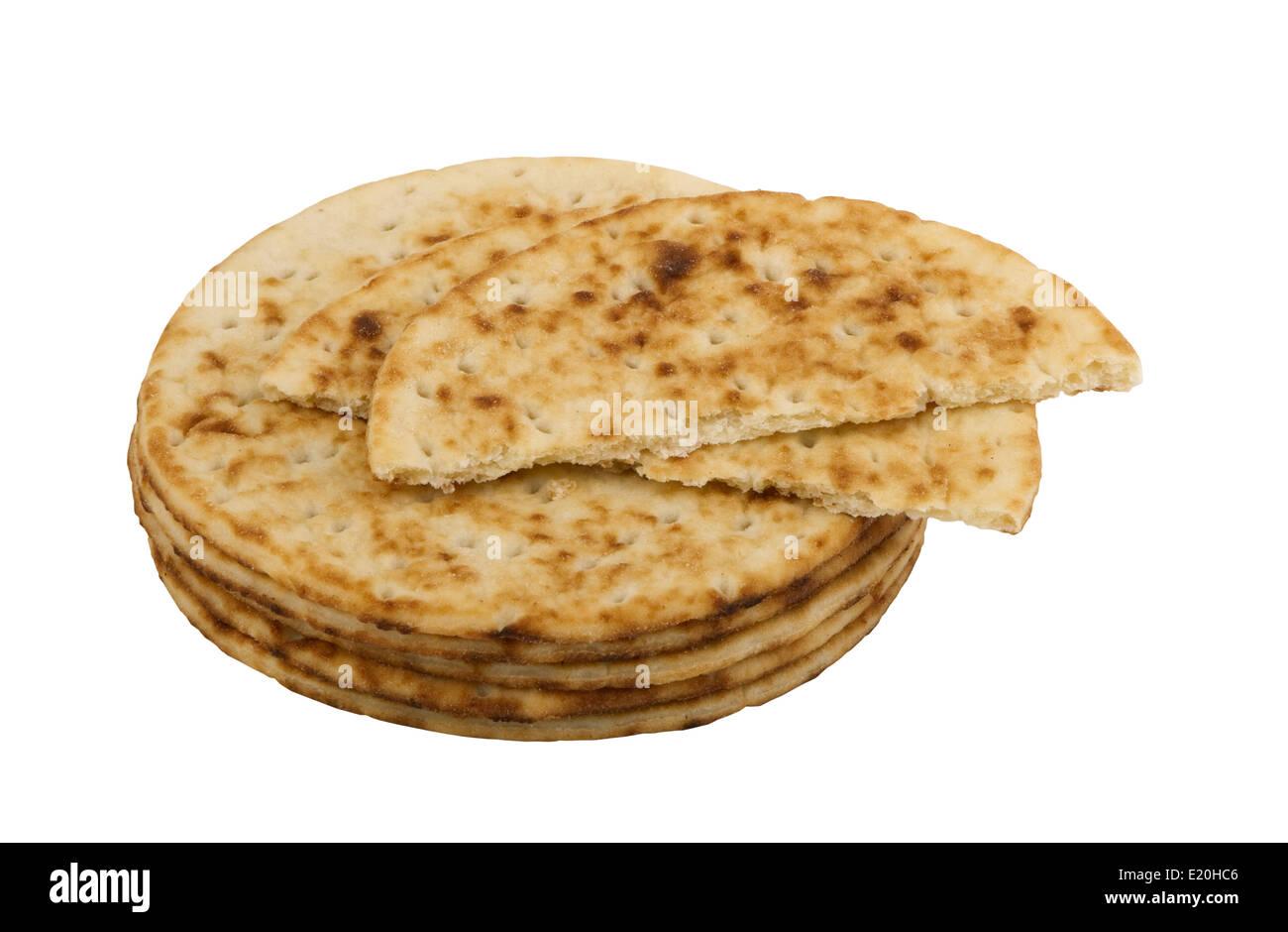 dietary wheat tortillas - Stock Image