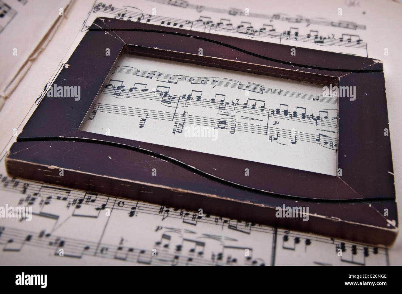 musical background - Stock Image