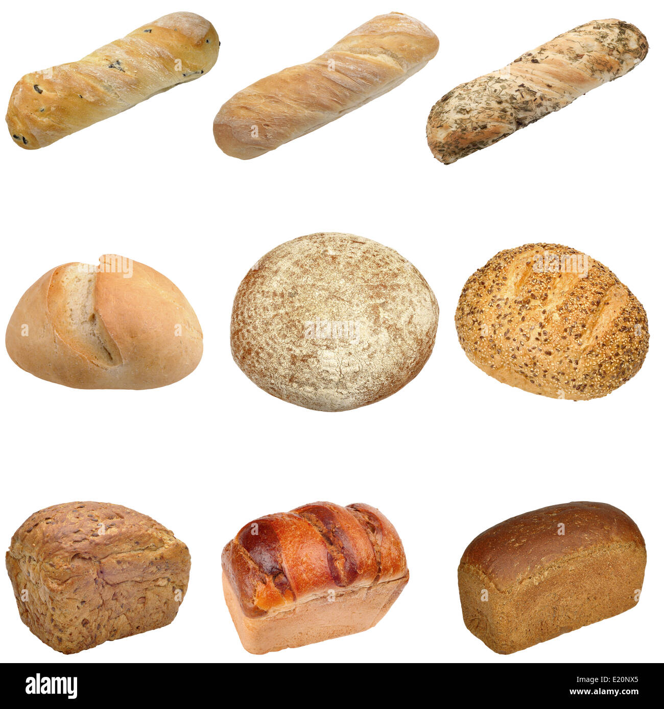 Different Types Of Bread