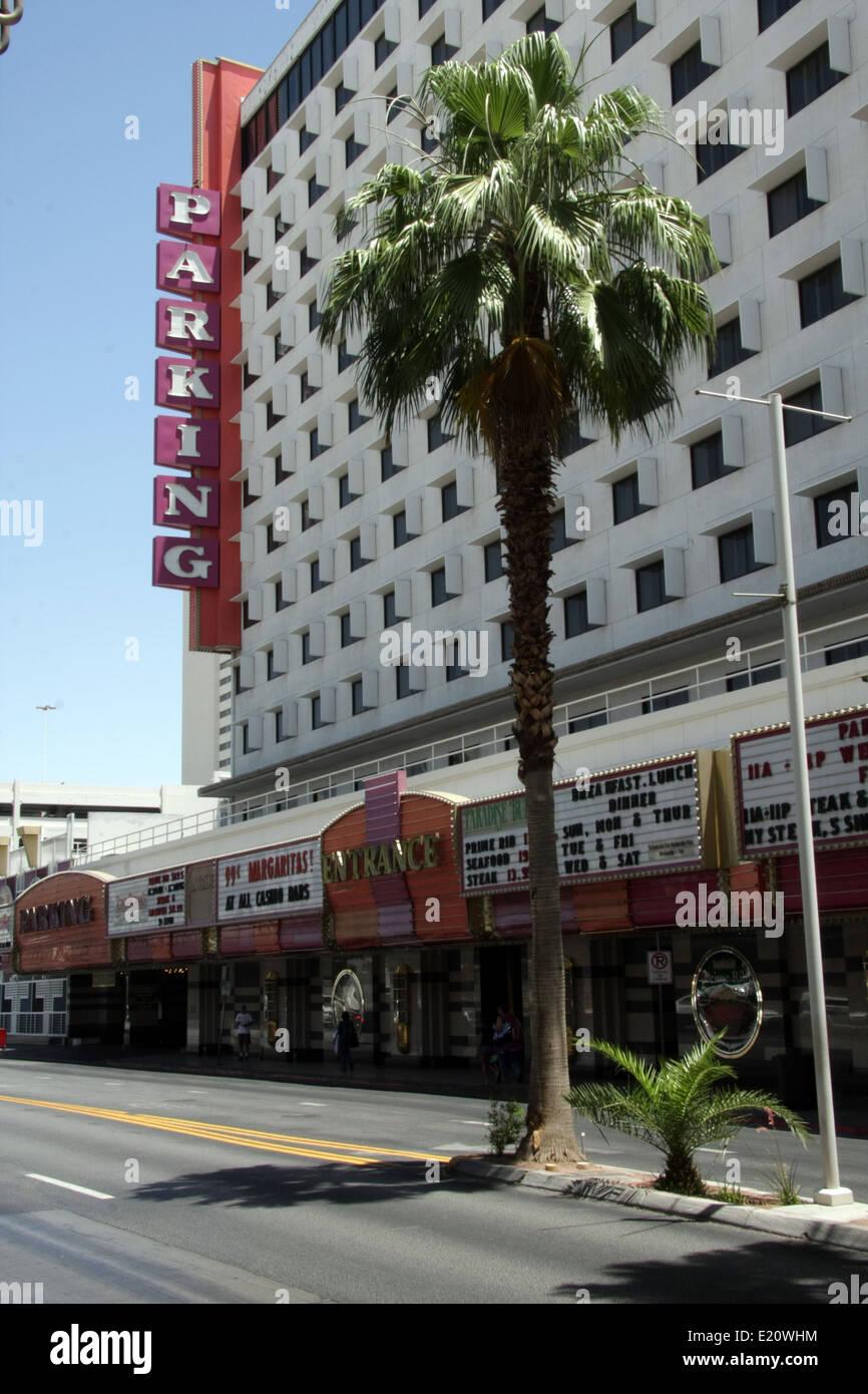 car parking lot in Las Vegas, USA - Stock Image
