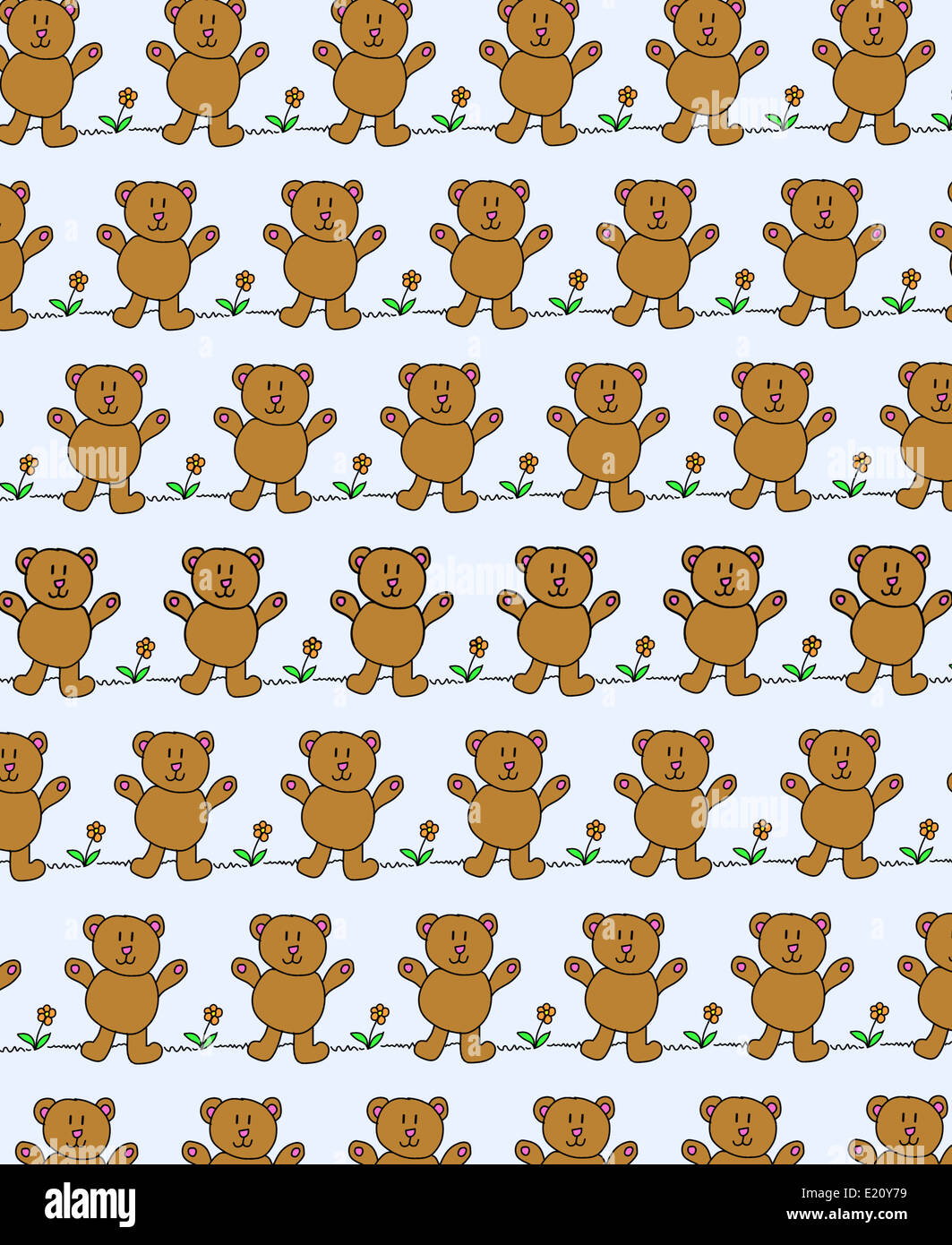 Pattern With Bears Stock Photos Pattern With Bears Stock Images