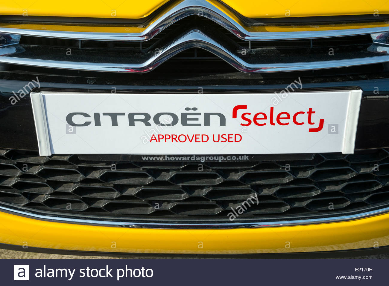Citroen select approved used cars, UK. - Stock Image