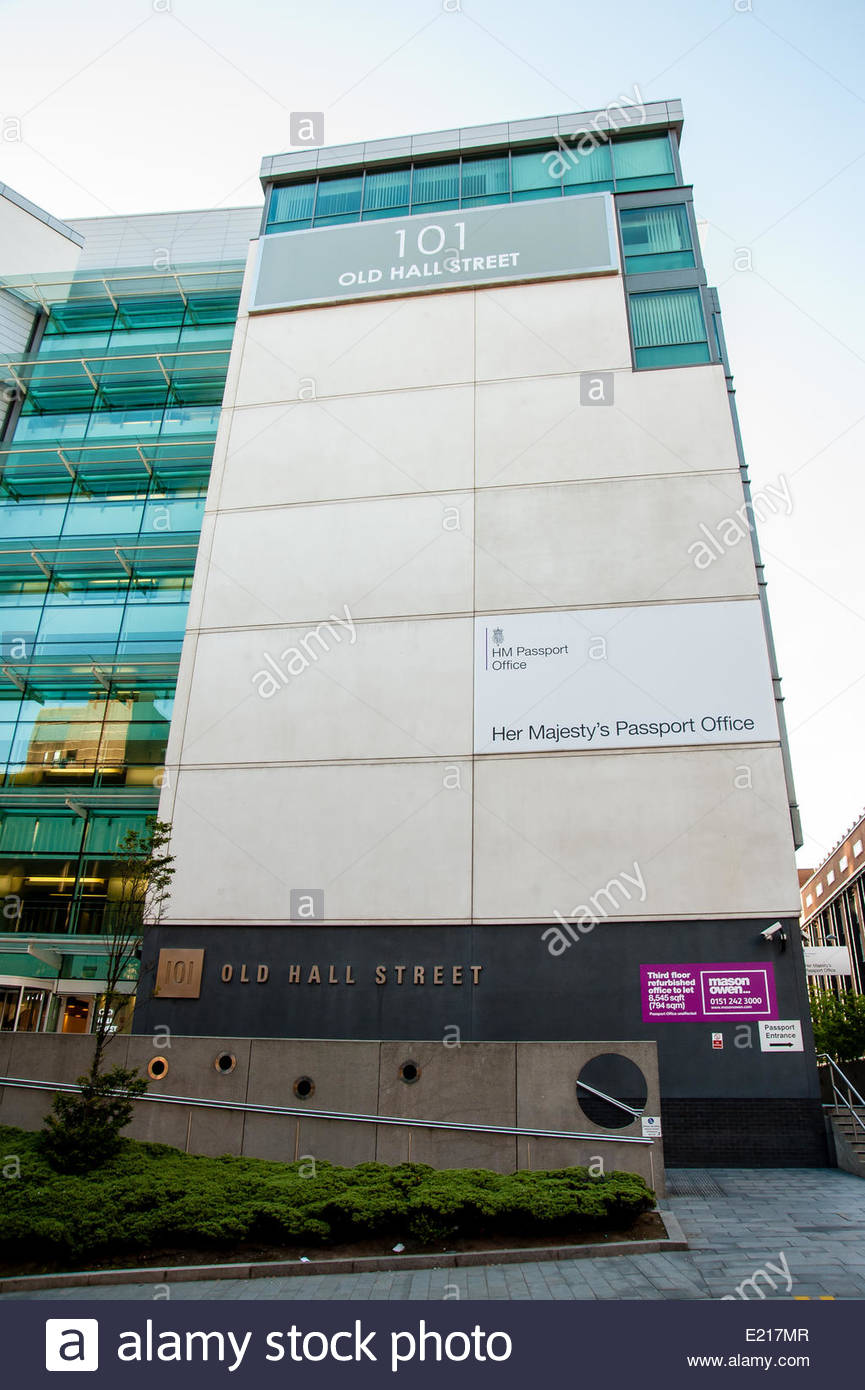 12/06/2014 Views of Her Majesty's Passport Office in Liverpool as reports of severe backlogs hit the news, 101 - Stock Image