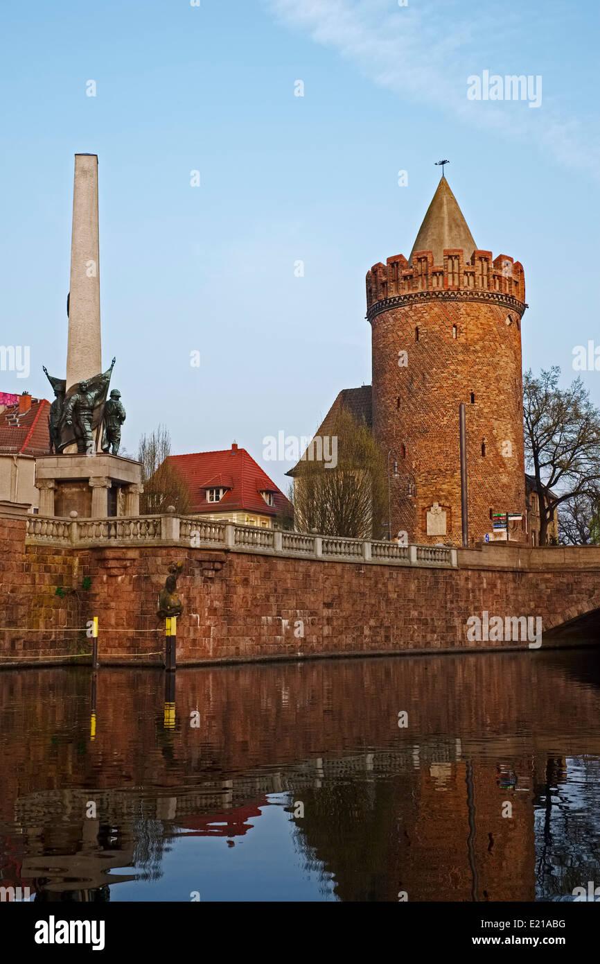 Steintorturm Tower in Brandenburg an der Havel, Brandenburg, Germany - Stock Image