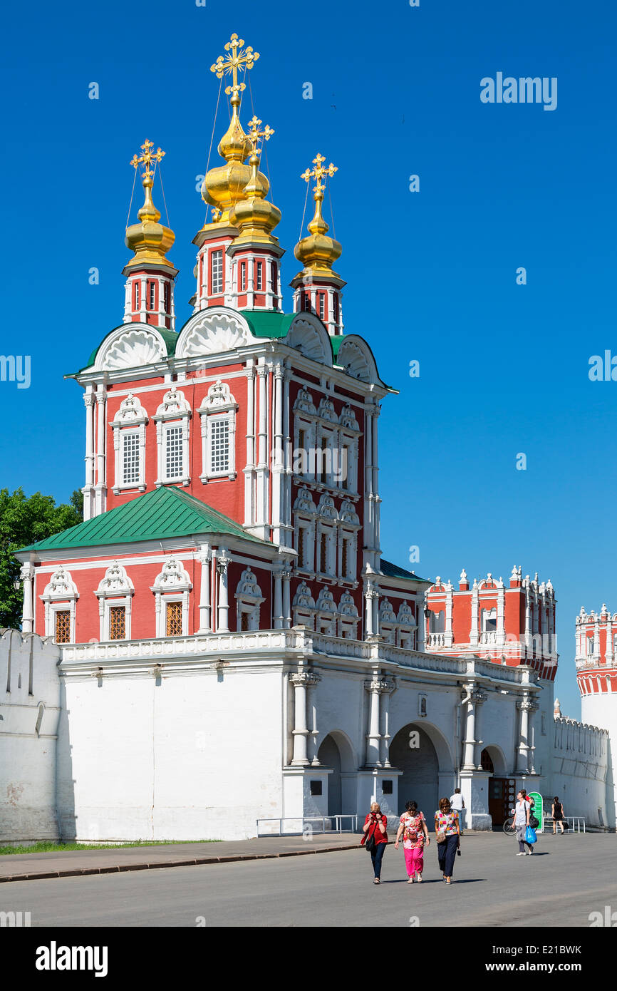 Russia, Moscow Oblast, Novodevichy Convent Stock Photo