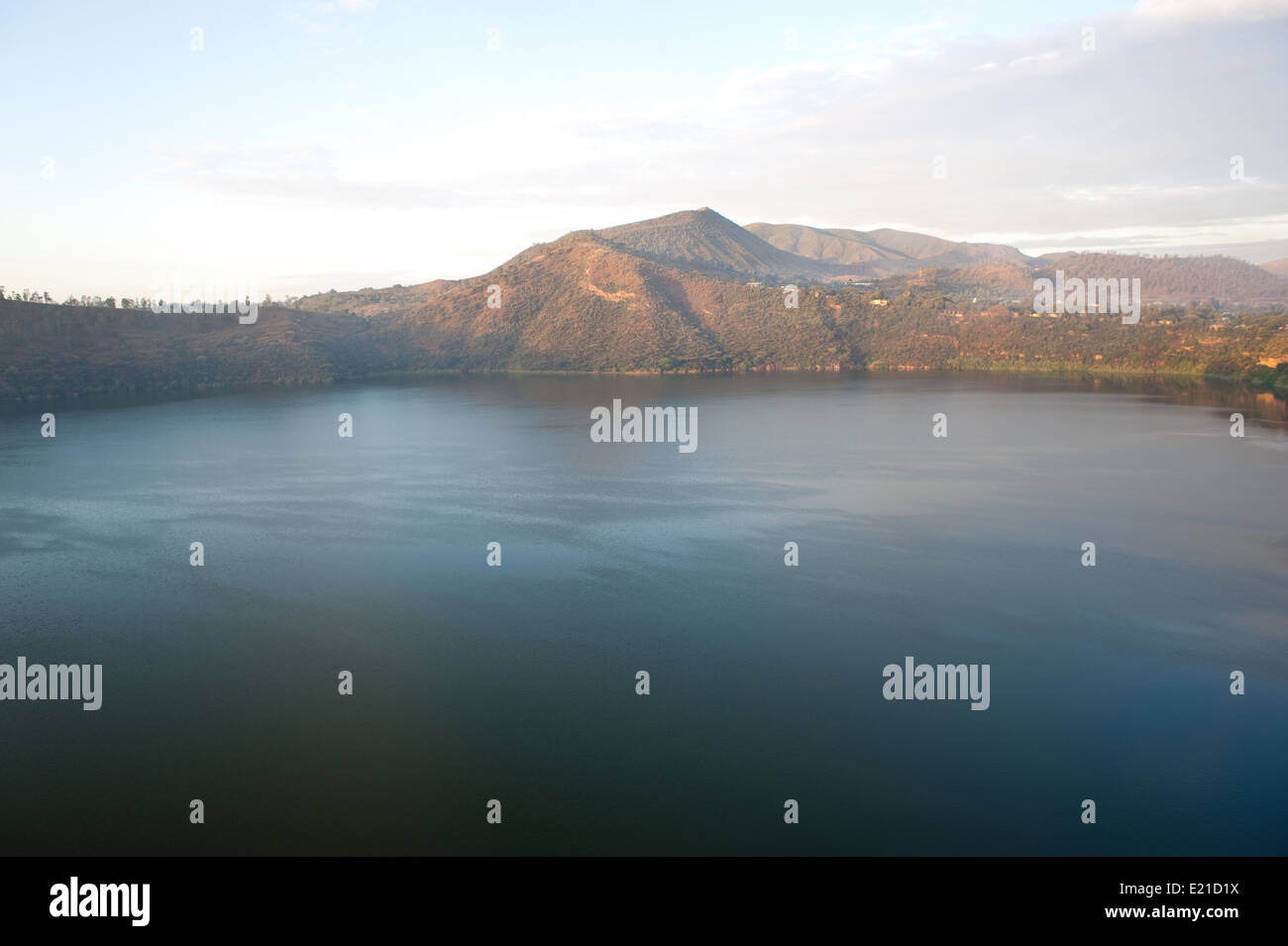 Lake Bishoftu ( Ethiopia) - Stock Image