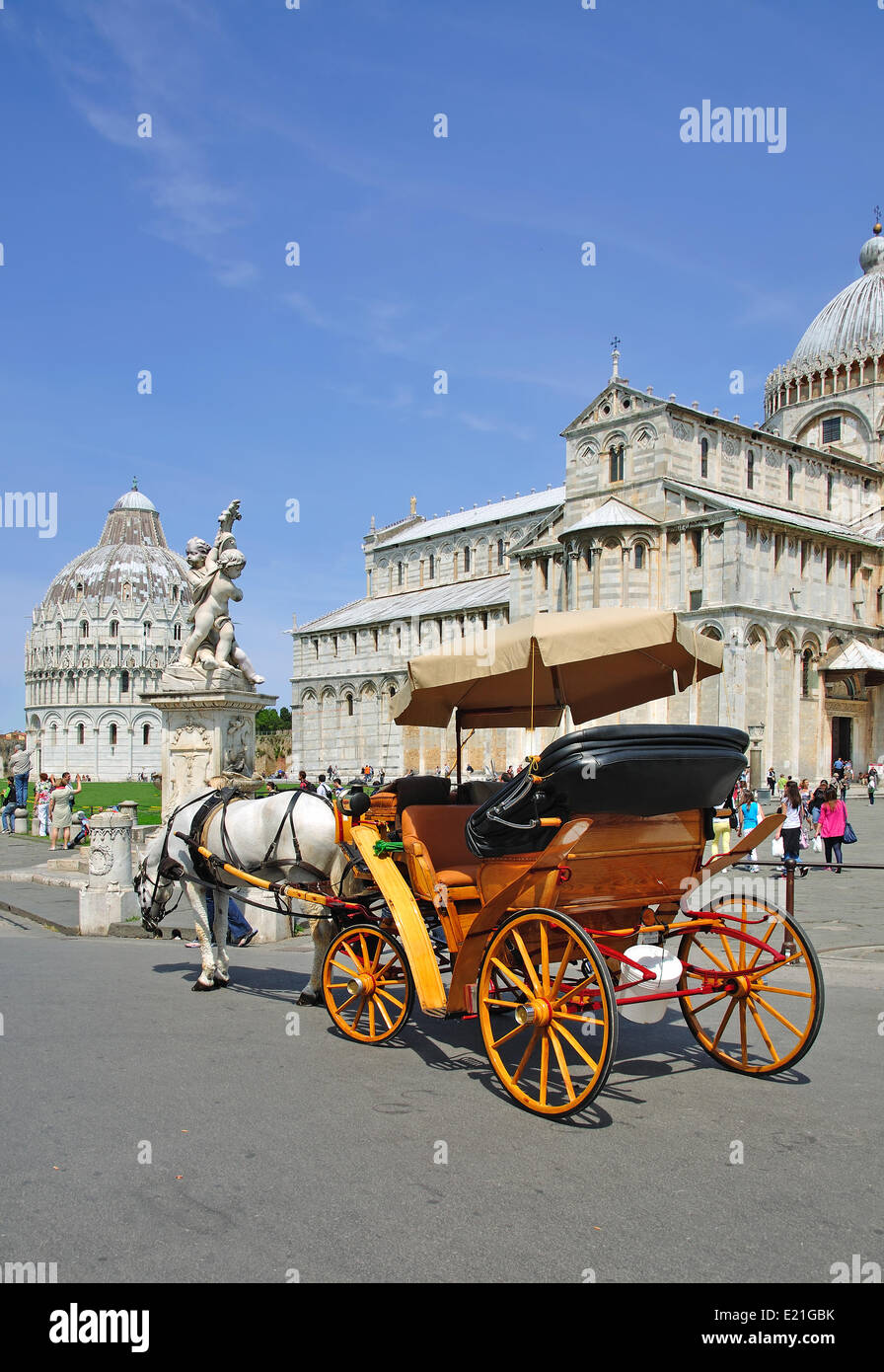 the Court of Miracles in Pisa - Stock Image