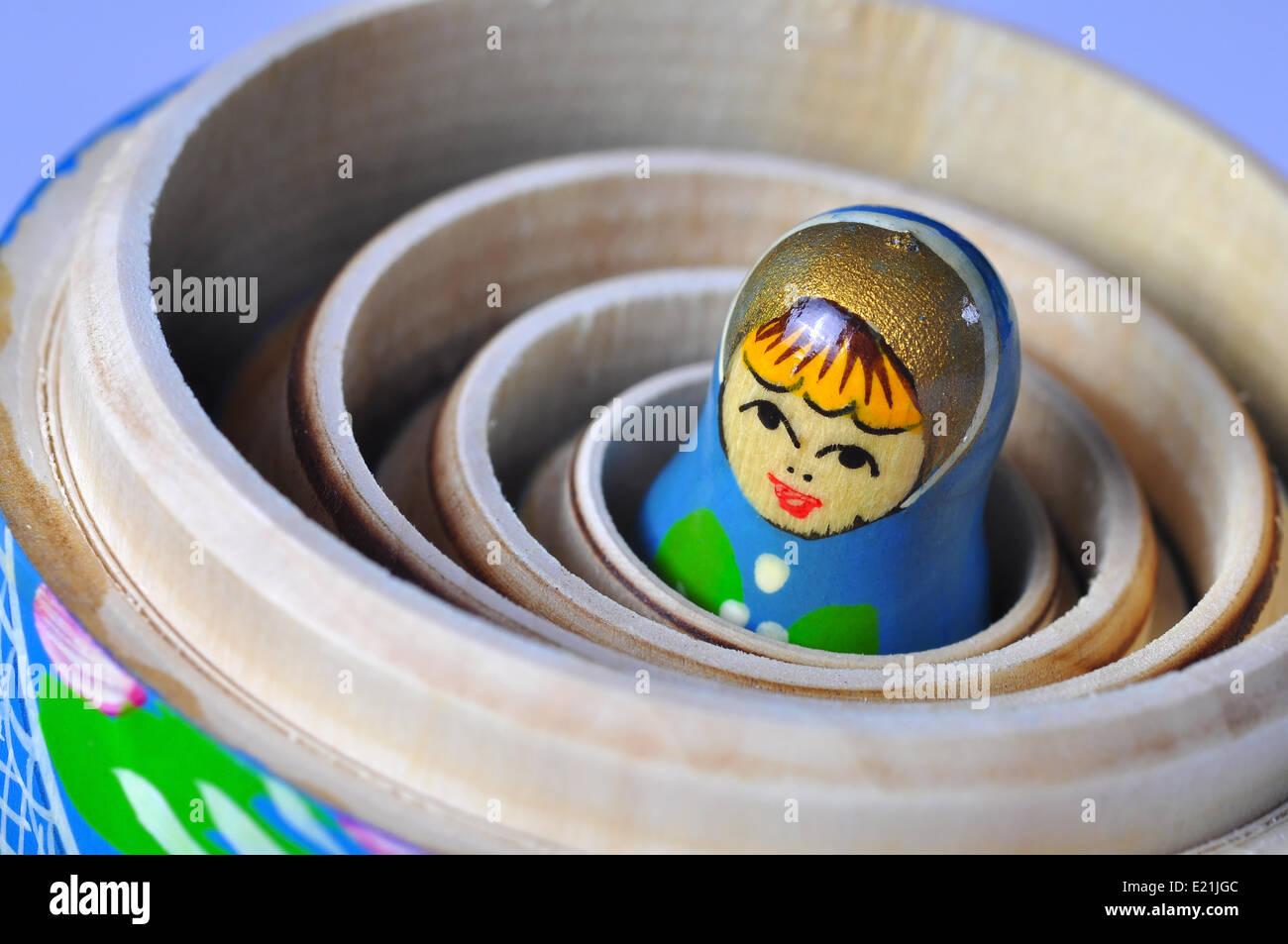 Matrioska Russian Doll - Stock Image
