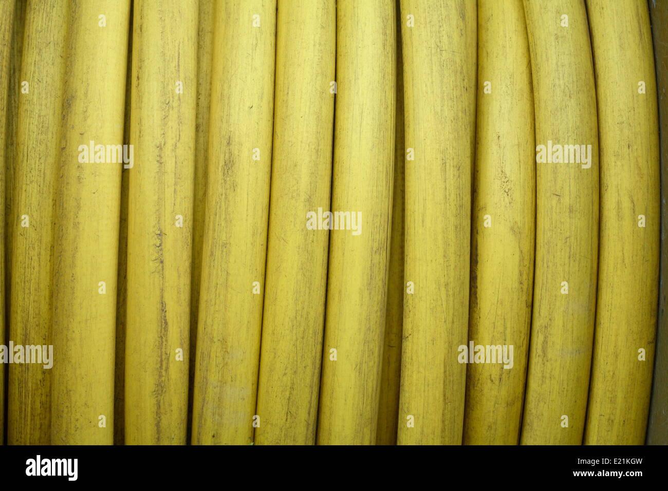 Garden hose - Stock Image