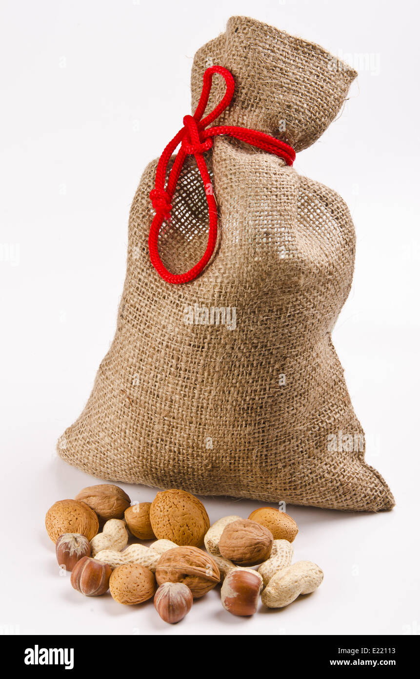 Nuts and cores - Stock Image