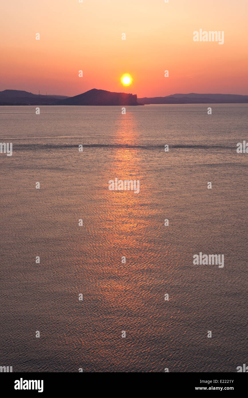 Rising Sun - Stock Image