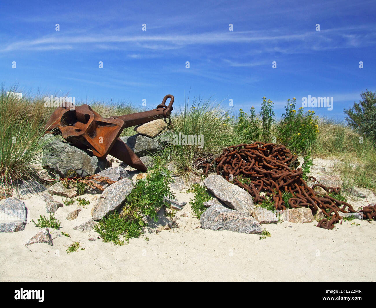 old anchor - Stock Image