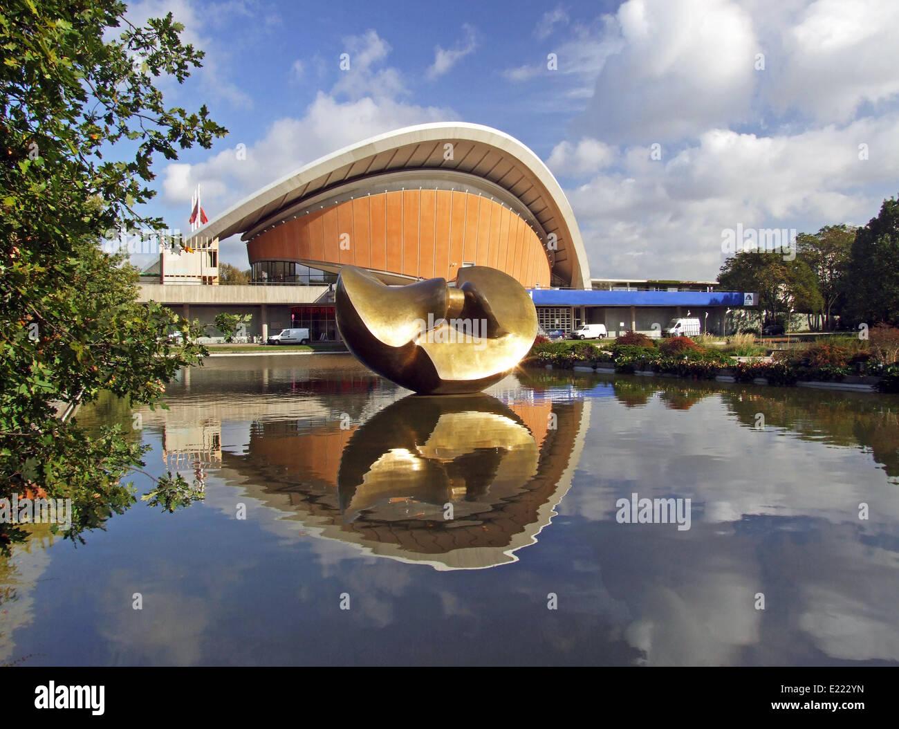 Haus der Kulturen der Welt Germany Berlin - Stock Image