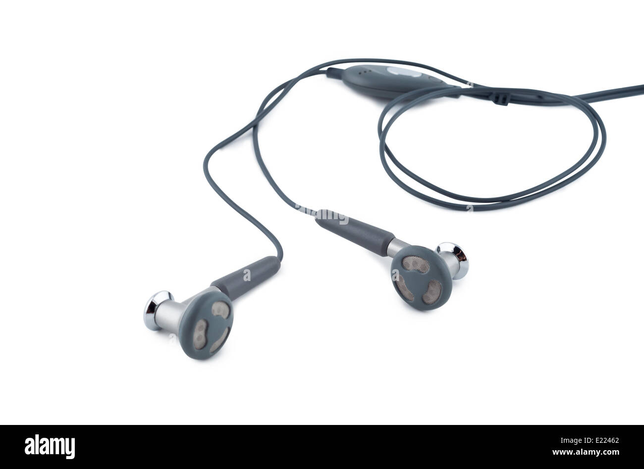 Headphones White Background Cut Out Stock Images Pictures Alamy Marley Headphone Wiring Diagram On A Image