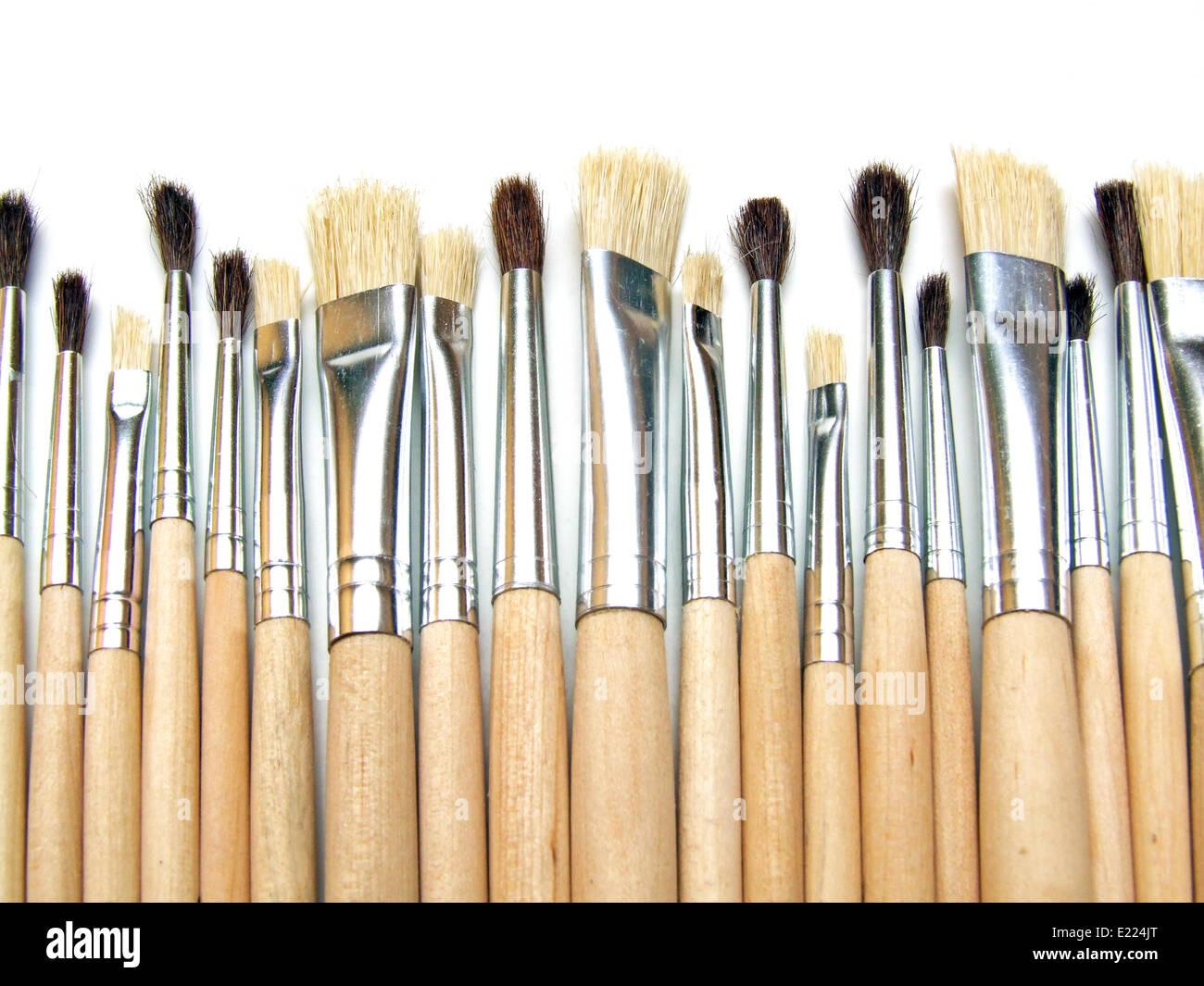 paintbrush Stock Photo