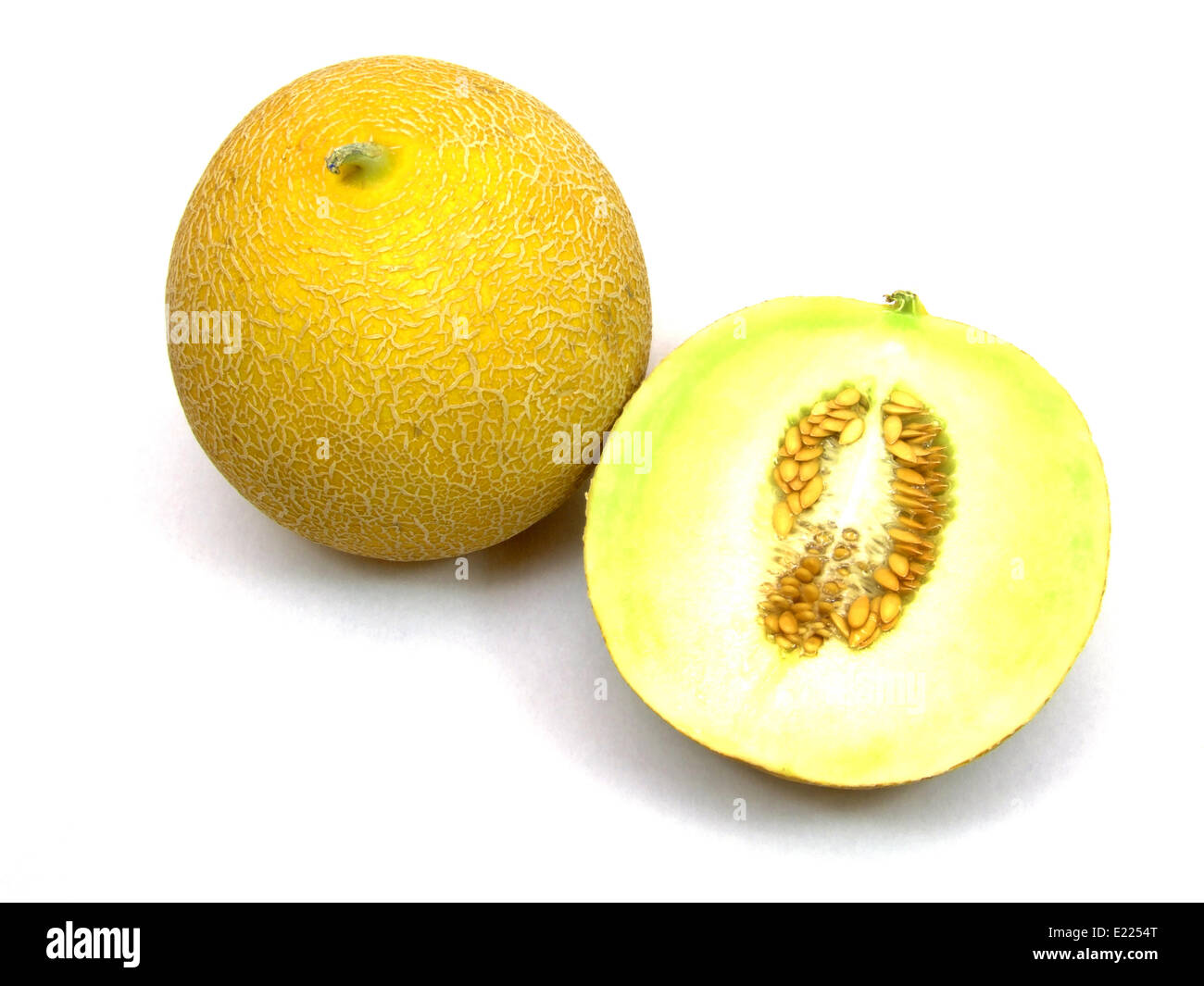 galia melon Stock Photo