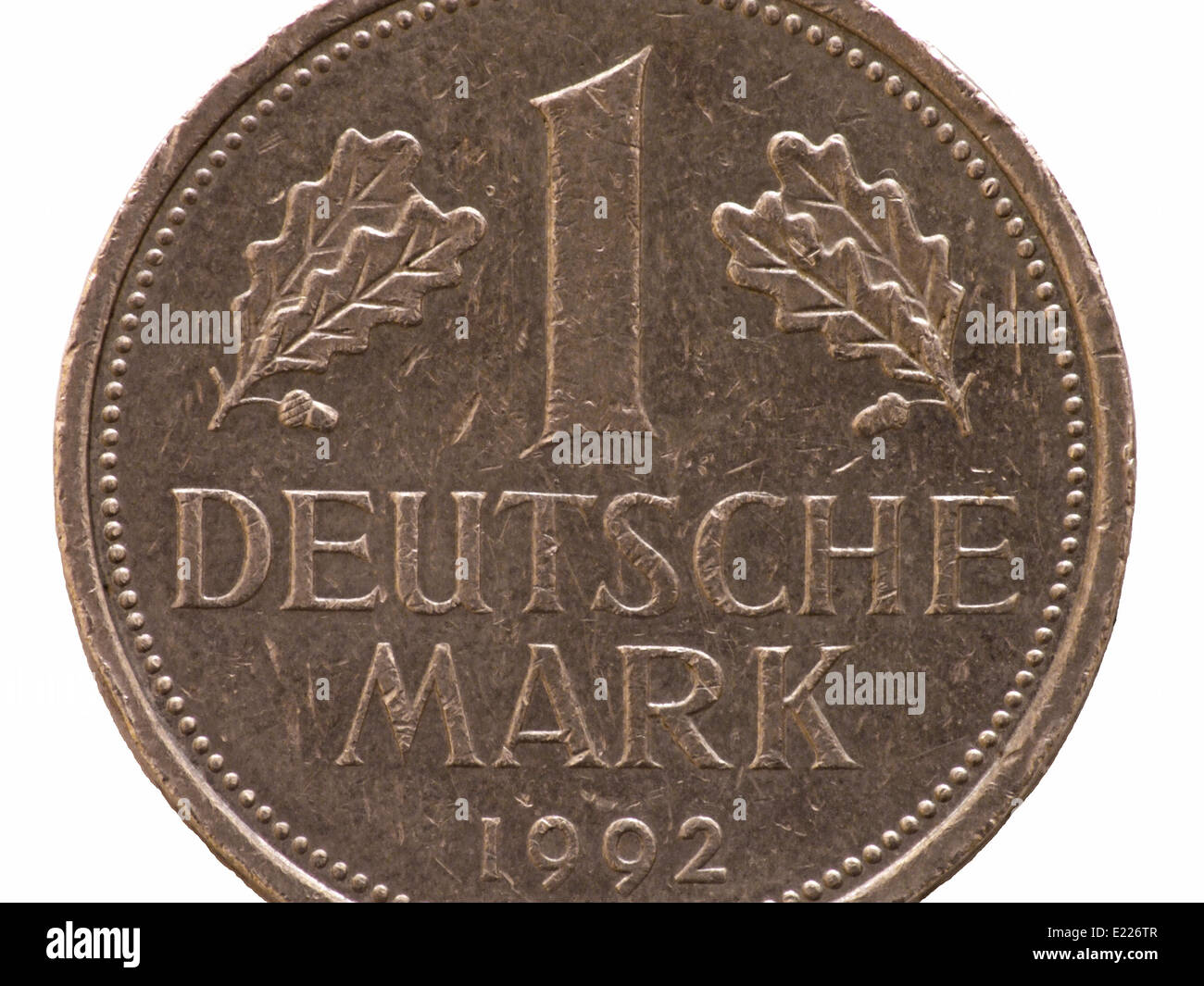 German Mark - Stock Image
