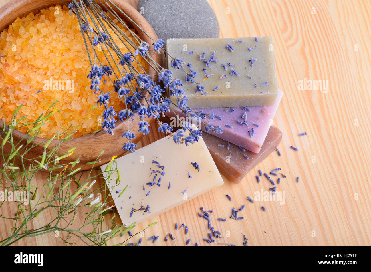 Treatment for bodycare - Stock Image